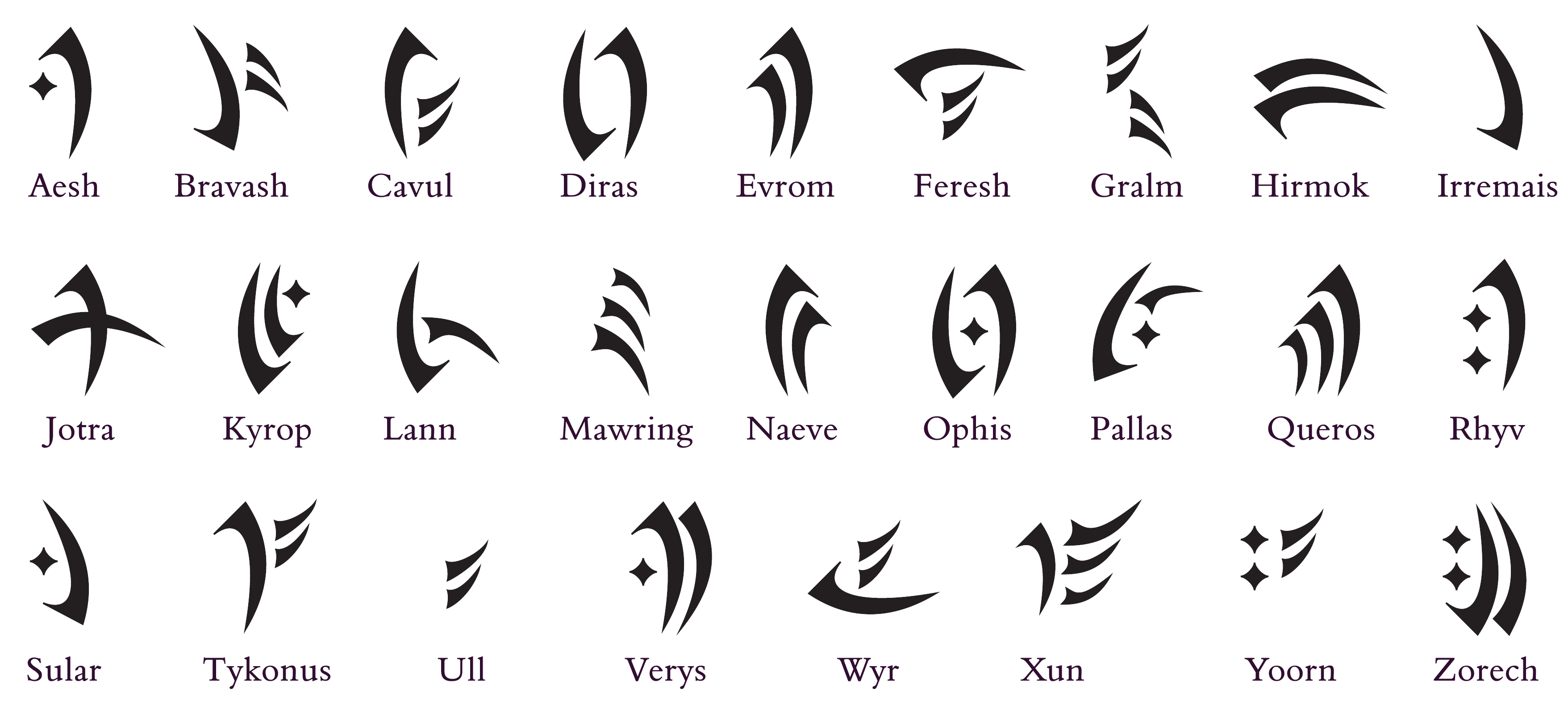 Shadowhunter Runes And Meanings Related Keywords ...