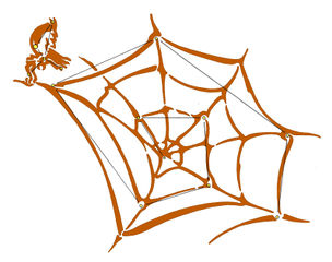 The Web (with Spider) (Illus.)