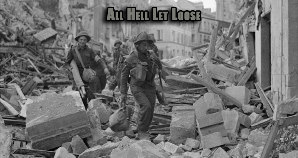 All Hell Let Loose - 6mm WW2 Wargaming by David Wasilewski